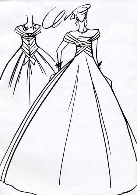 花嫁希望のウェディングドレス