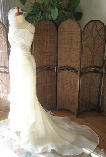マーメイドライン ウェディングドレスの特徴