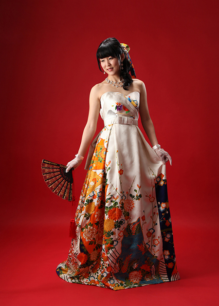 オートクチュールドレス 和装ドレス