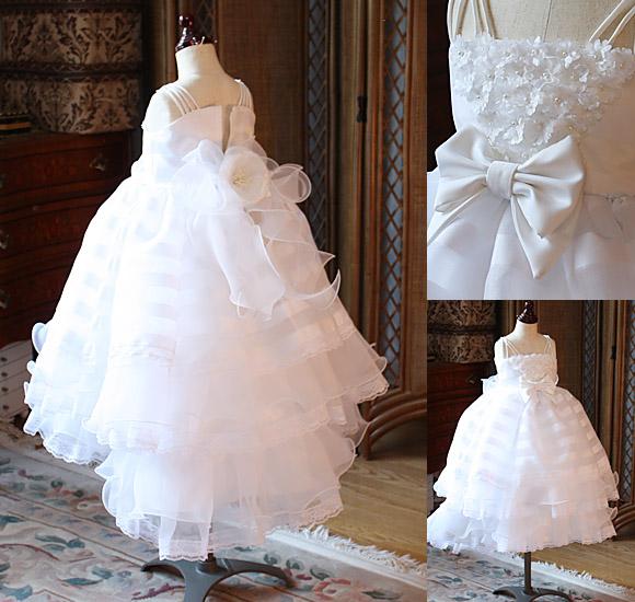 ウェディングドレス 子供用 フラワーガール リングガール 花束贈呈
