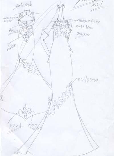 マーメイドドレス ウェディングドレス オーダー