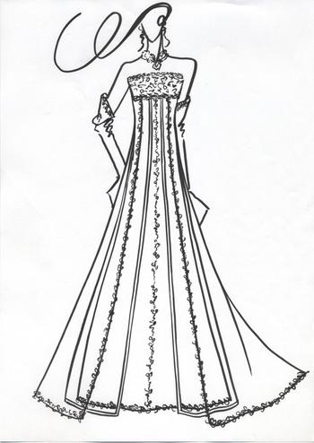 エンパイアウェディングドレス オーダーメイド 札幌の花嫁様