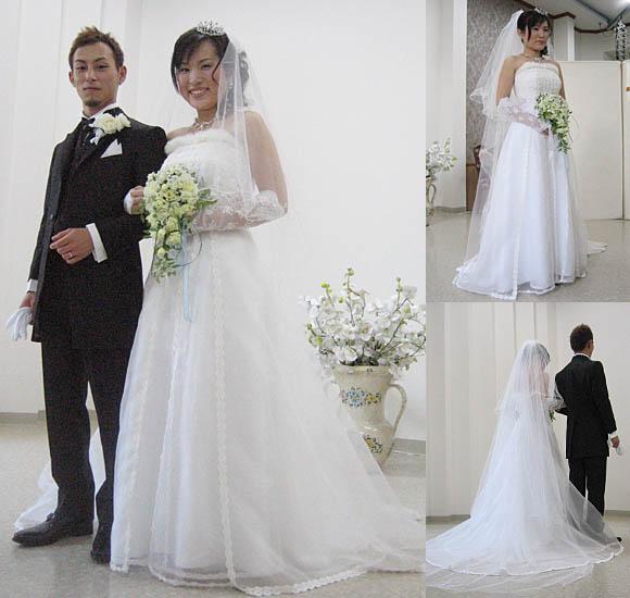 結婚式ウェディングドレス 札幌の花嫁様のオーダーメイド ウェディングドレス