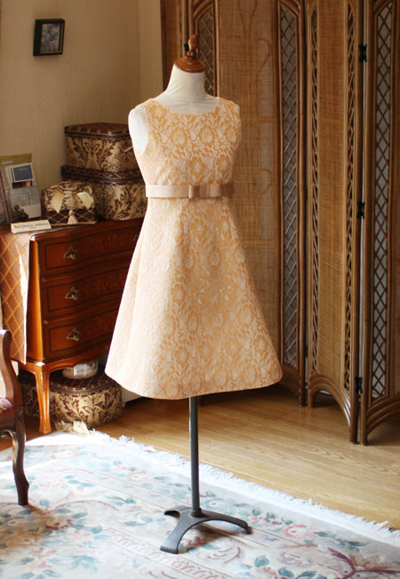 結婚式の参列用衣装 リメイク
