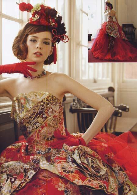着物ウェディングドレス。全国で人気NO.1お色直しドレス