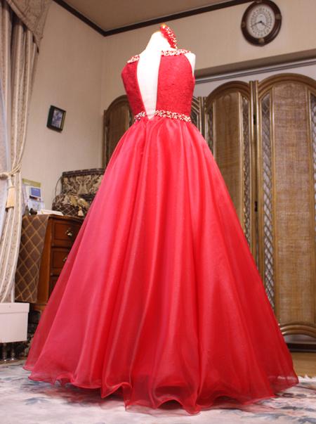 美しい中学生用のピアノドレス