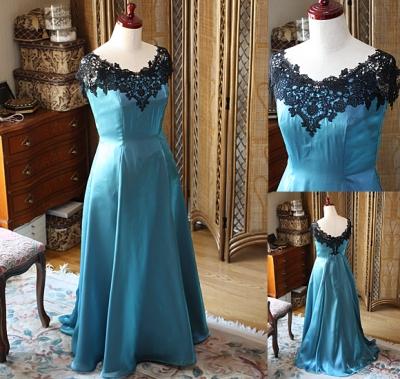 リサイタルドレス アンティークグリーン オーダーメイドドレス