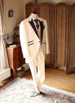 モーニングコート キャメルホワイト レンタル