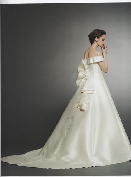 プリンセスライン ウェディングドレス シンプルドレス