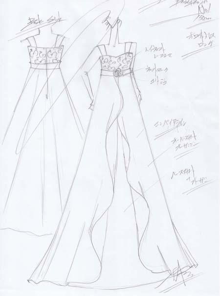 ピアノのコンクールドレス 広島県のお子様デザイン 150cmサイズドレス 中学生用