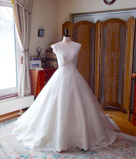 卒業花嫁様ウェディングドレス