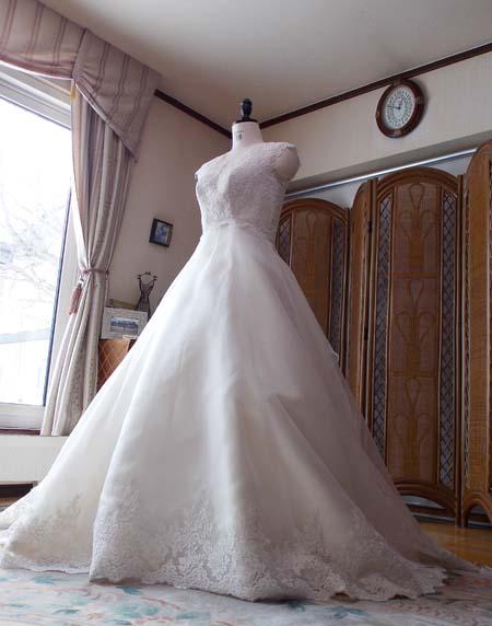 ウェディングドレス オーダーメイド製作