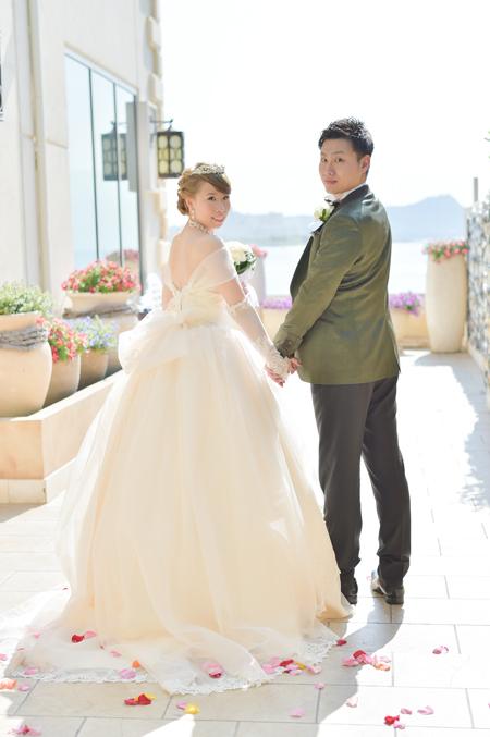 花嫁様ウェディングドレスのご紹介 海外ウェディング