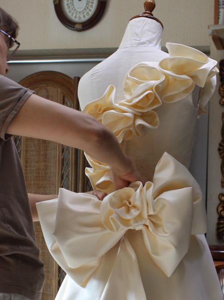 ディテール制作 ウェディングドレス