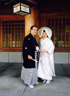 北海道神宮での神前結婚式