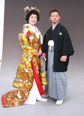 色打掛 和装での婚礼撮影