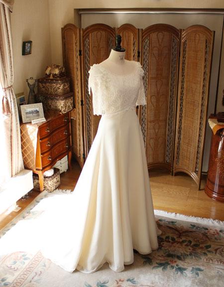 ヴィンテージ ウェディングドレス