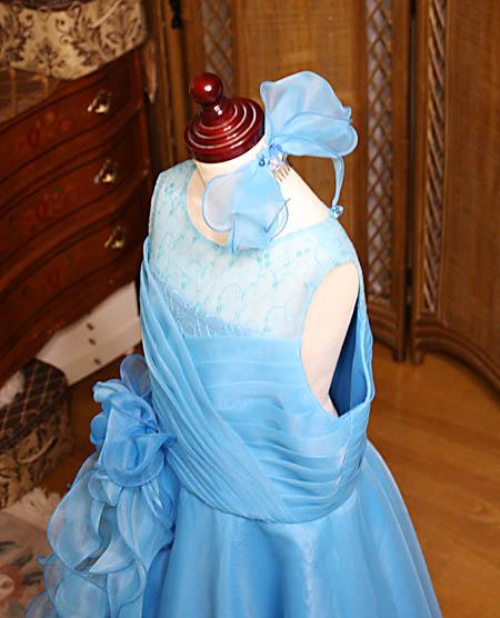 コンサート用のヘッドドレス