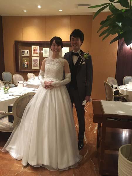 メタモールフォーゼの卒業花嫁様のご紹介