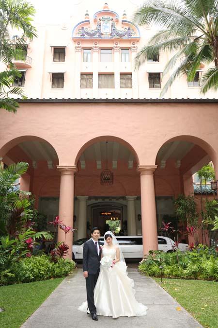 メタモールフォーゼでフルオーダーメイドで創られた花嫁様のウェディングドレス