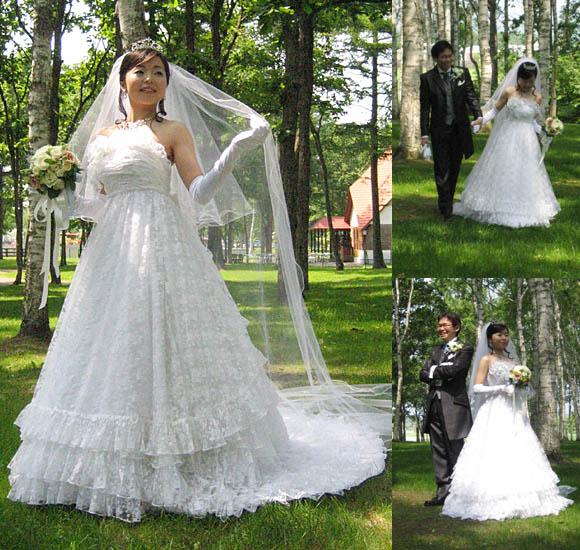 ウェディングドレスのリメイク オーダーメイド製作 札幌店