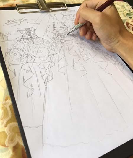 卒業式で着るカクテルドレスのデザイン