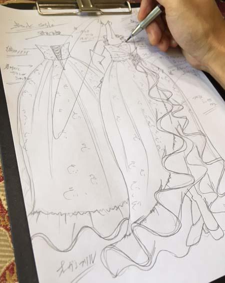 デザイナーが提案するドレス