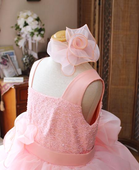髪飾り コサージュのヘッドドレス