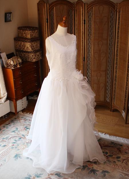 ウェディングドレスのリメイクとサイズ直し オーダーメイドドレス