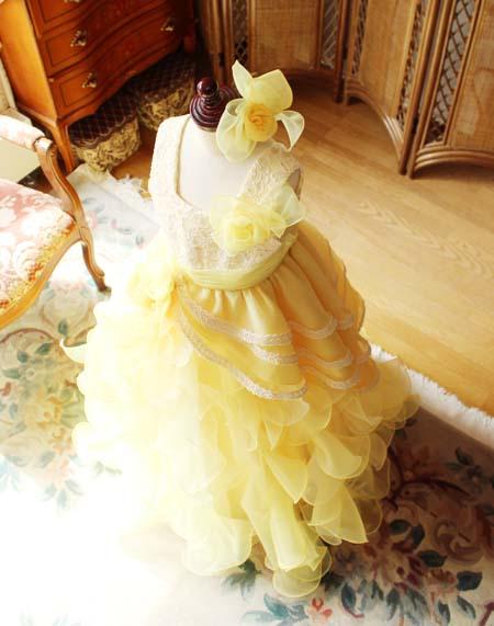 コサージュのヘッドドレス