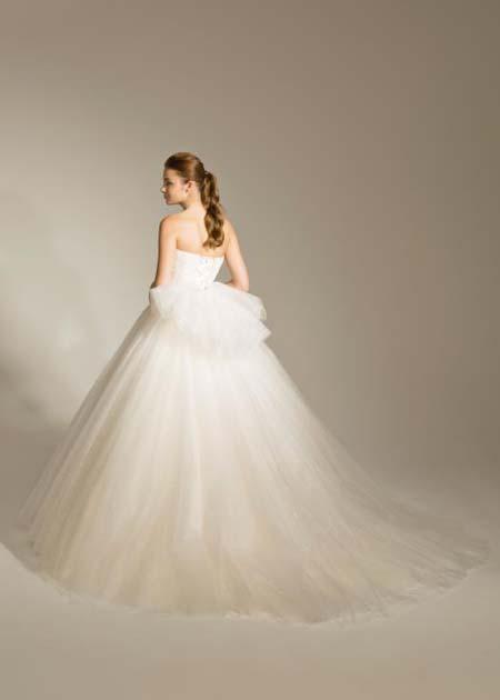 大きなリボン ウエディングドレス