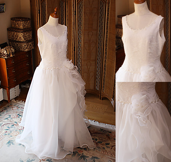 ウェディングドレスのリメイク制作