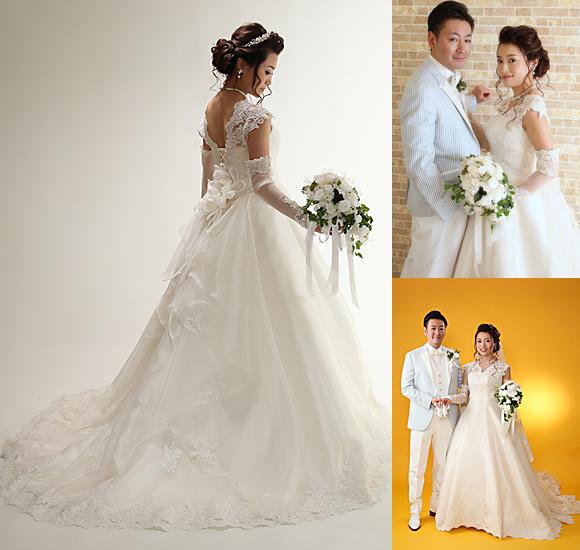 オーダーメイド ウェディングドレス 北海道札幌市の花嫁様をご紹介