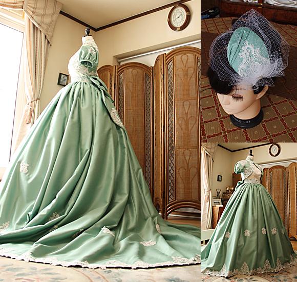 カクテルドレスのデザインとシルエット オーダーメイド制作