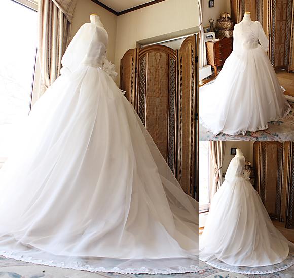 クラシックスタイルとお客様の思い描くドレスをオーダーメイド制作