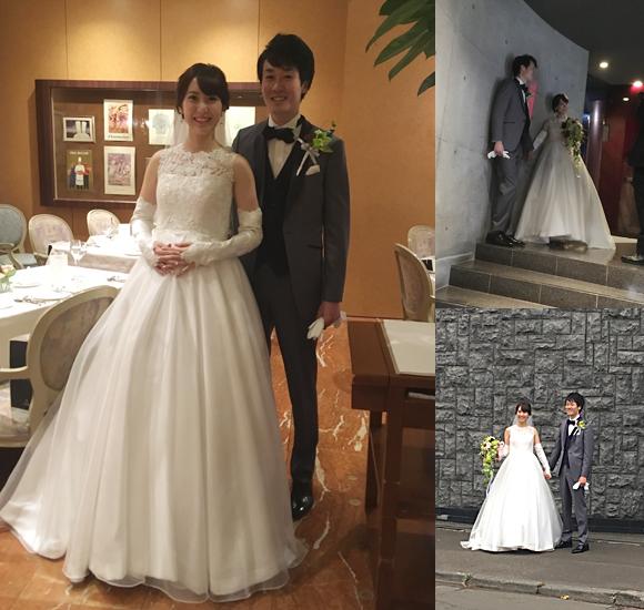 オーダーメイドウェディングドレス 北海道札幌のお客様
