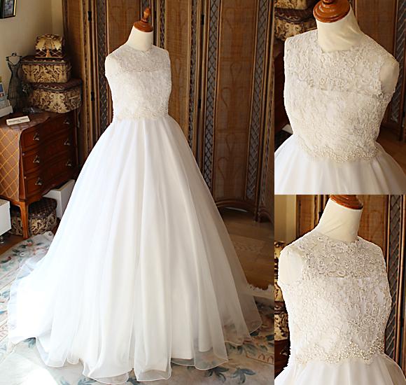 オーダーメイドウェディングドレス デザインの詳細