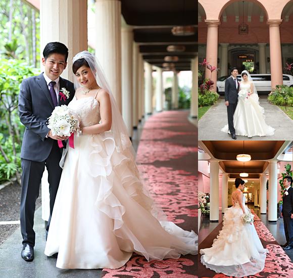メタモールフォーゼ  卒業花嫁様のフルオーダーメイドウェディングドレス