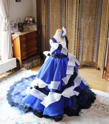 子供用のオーダーメイドウェディングドレスを制作