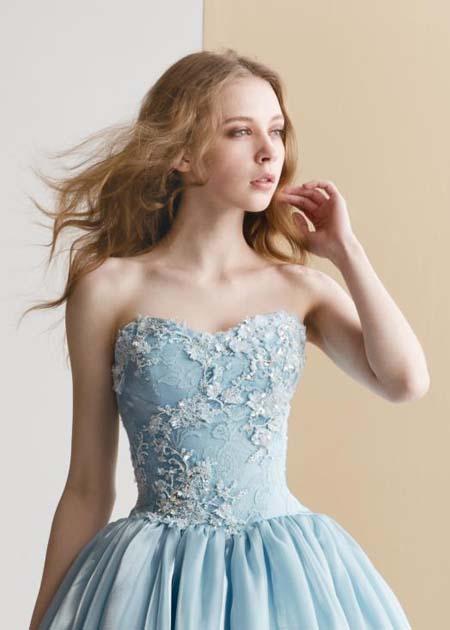 花嫁様の美意識を表現するドレス