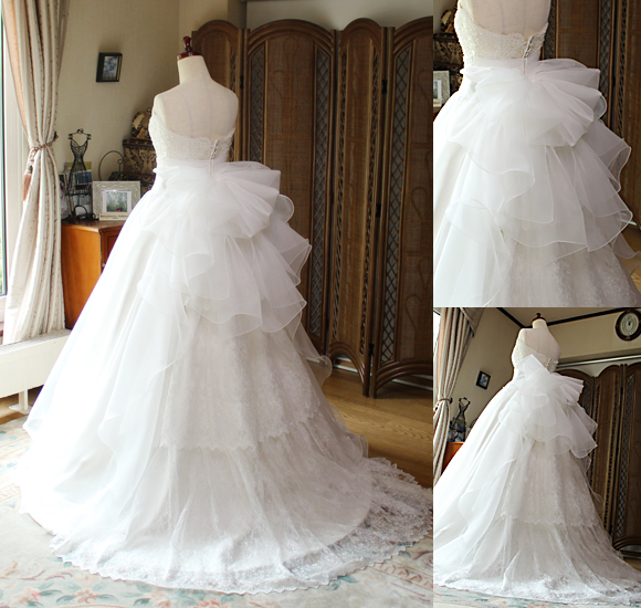 オーダーメイド ウェディングドレス シルエットとデザイン