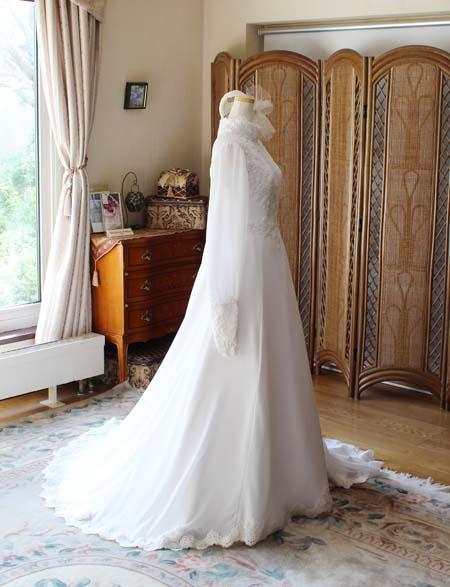 札幌市にお住いのお客様のオーダーメイドウェディングドレス