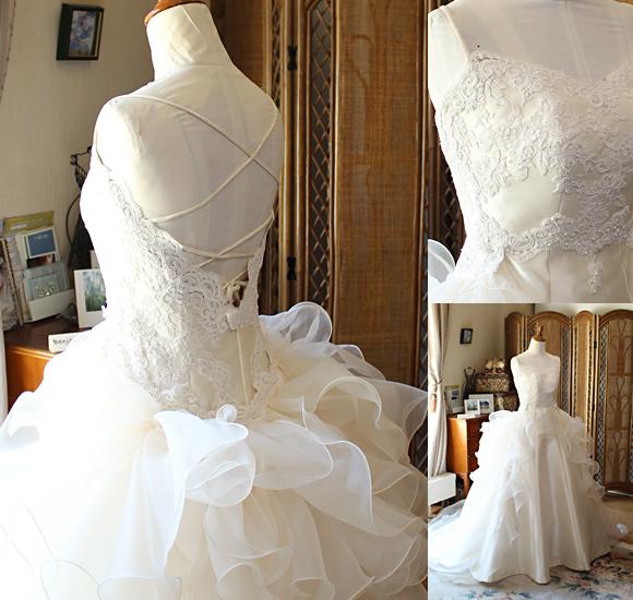 細部のディテールデザイン フルオーダーメイドで作るあなただけのドレス