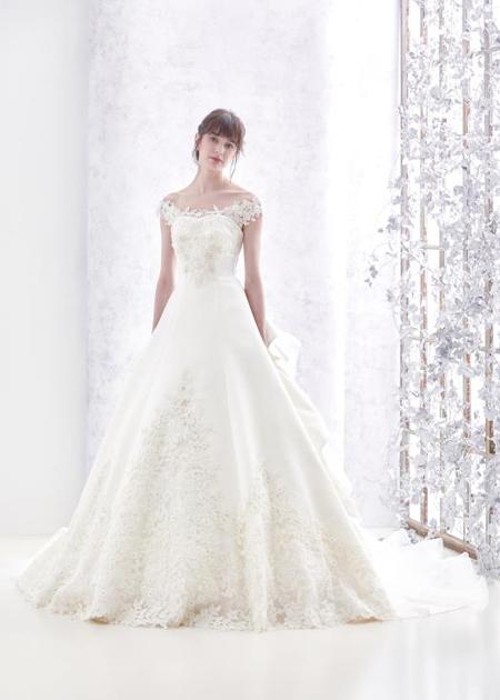 プリンセスライン ウェディングドレス