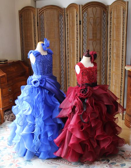ジュニアドレスとロングドレス 演奏者向けドレス オーダーメイド