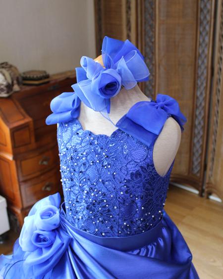 細部のデザイン 国内生産ドレス 北海道札幌市のドレス専門店 アトリエ製作