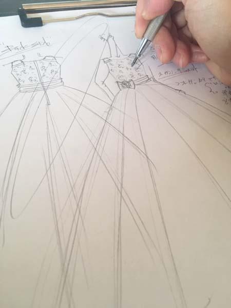 コンチェルトドレス 子供用ドレス