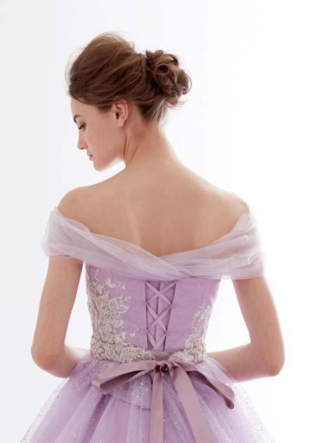 編み上げスタイル ドレスのトップス