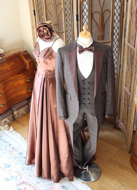 ウェディングドレスとカクテルドレス選び ご新郎とのトータルコーディネート