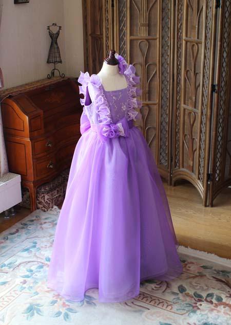 ベルラインシルエット ピアノ用 ドレス